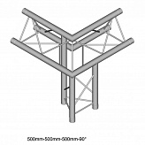 Dura Truss DT 23 C32-ULDL   3way corner 9