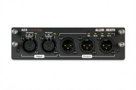 ALLEN&HEATH dLive AES3 I/O 4in/6out