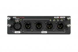ALLEN&HEATH dLive AES3 I/O 2in/8out