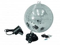 Eurolite Mirror Ball 30 cm SET LED 6000K