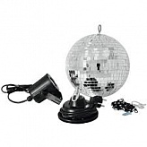 EUROLITE Mirror Ball 20 cm  SET with LED Spot